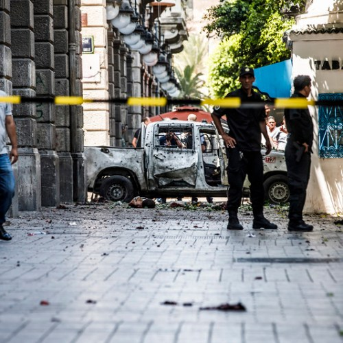 UPDATED: Twin suicide attacks  in Tunisian capital
