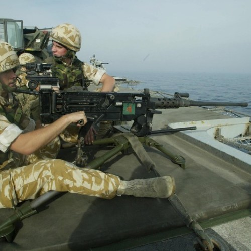Royal Navy planning to deploy marines to Gulf