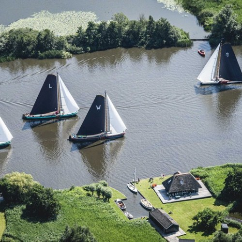 Photo Story: Traditional Skutsjesilen competition on the lakes of Friesland