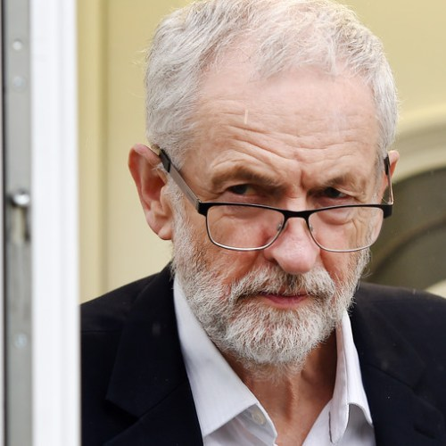 Corbyn asks for Brexit deal or no deal exit to a second referendum, in which case Labour will campaign for Remain