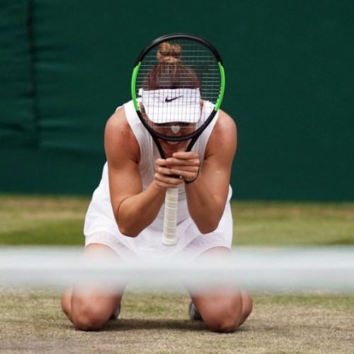 SlideShow – Simona Halep wins Wimbledon after beating Serena Williams