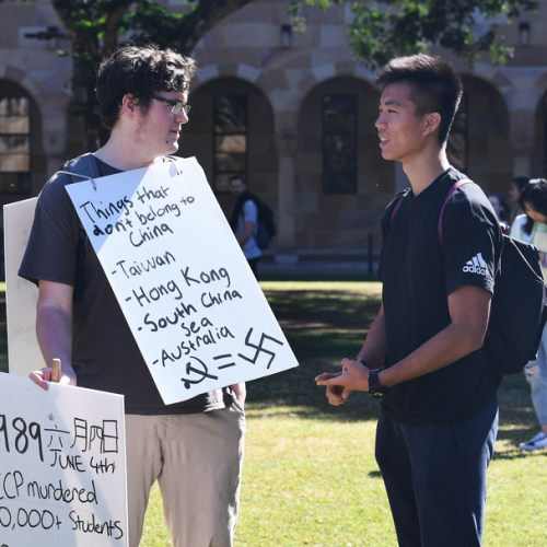 Photo Story: Protests in Brisbane