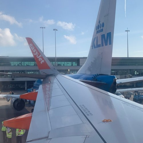 Photo Story – Collision during pushback – Schiphol