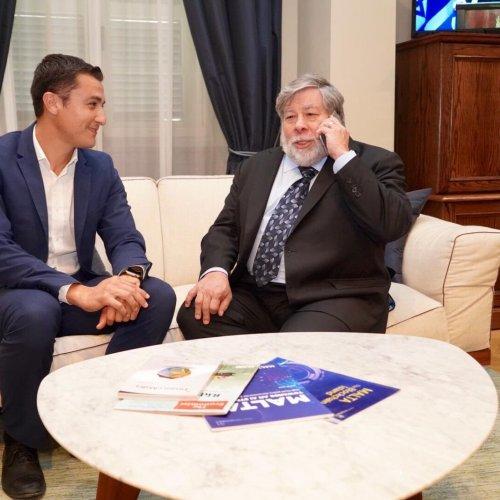 Apple co-founder Steve Wozniak launches blockchain company in Malta