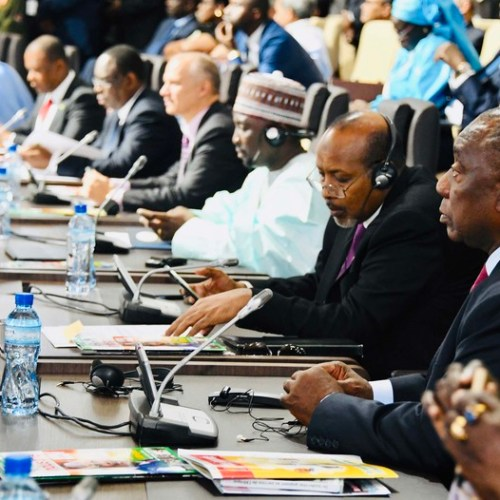 African leaders launch landmark 55-nation trade zone