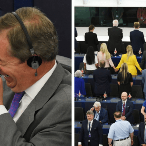 """Farage defends refusal to show """"respect for foreign anthems that have been forced upon us"""""""