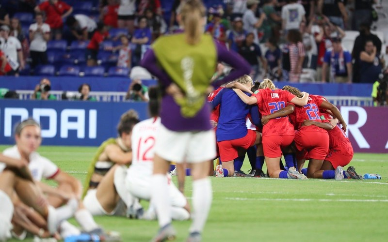 USA reaches World Cup final after beating England