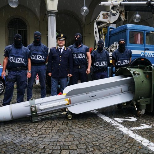 Qatar says French missile found among arms seized in Italy was sold 25 years ago