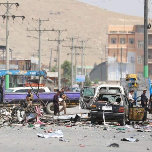 Photo Story: Three blasts kill at least seven people in Kabul