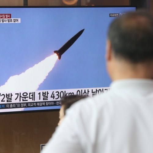North Korea missile launch 'a warning' to South Korean