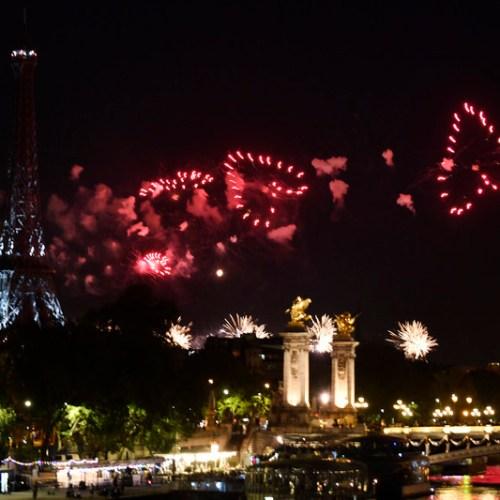 Photo Story: Paris Bastille Day fireworks