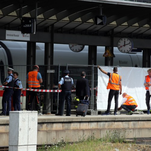 Photo Story: Child killed in Germany after being pushed onto the tracks