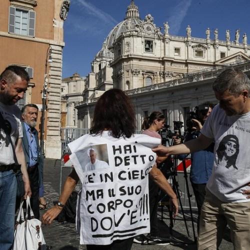 Photo Story: 'Emanuela Orlandi' demonstration at the Vatican