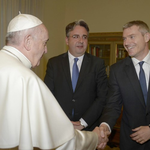 Photo Story: New director of the Holy See's press office