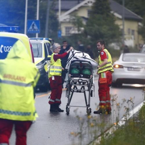 Shooting incident in mosque in Norway