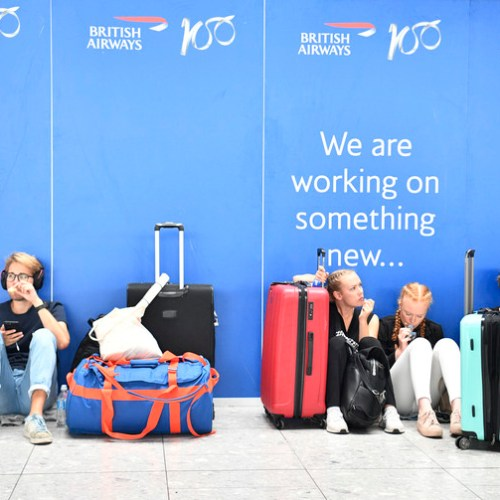 Further problems expected for BA flights due to IT glitch