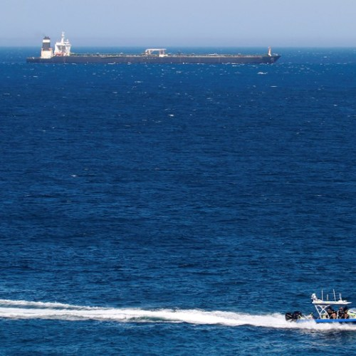 Iranian tanker leaves Gibraltar, Iran ready to give it naval escort