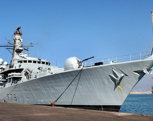 The UK sends another warship to Gulf