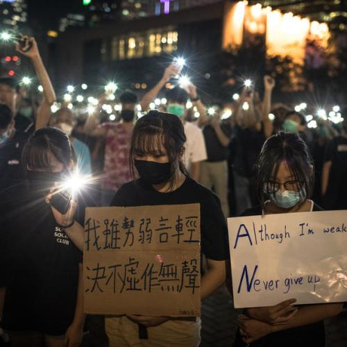 Bank warns Hong Kong protests will hit economy