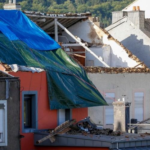 Tornado rips across southwest Luxembourg