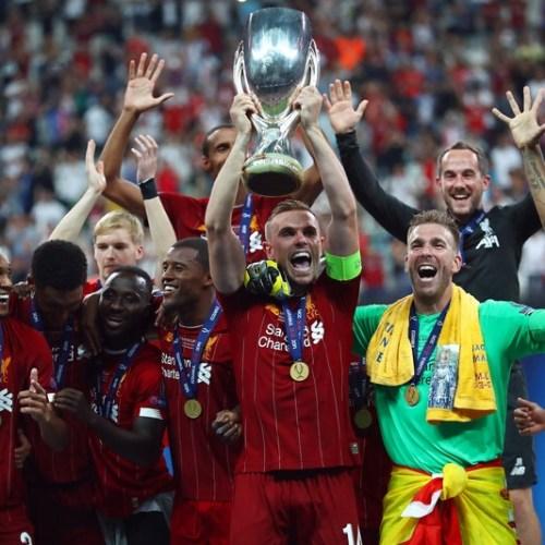 Liverpool wins UEFA Super Cup