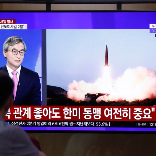 North Korea shoots another missile