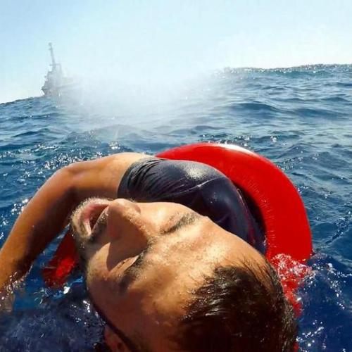 Photo Story: Migrants at sea off Lampedusa
