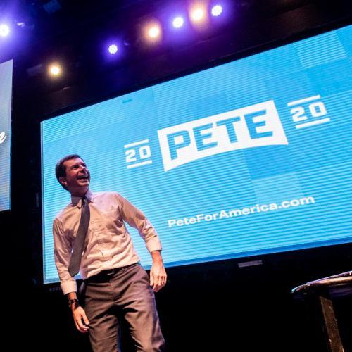 Pete Buttigieg speaks on the balance between politics and faith