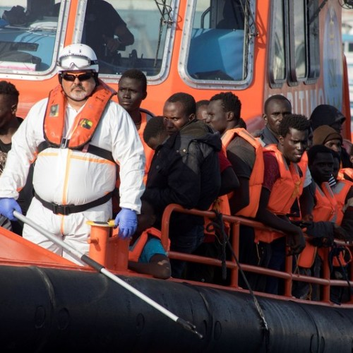39% reduction in the arrival of irregular migrants in Spain
