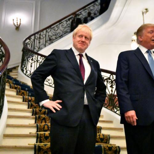 UPDATED: Trump and Johnson in bilateral meeting in Biarritz