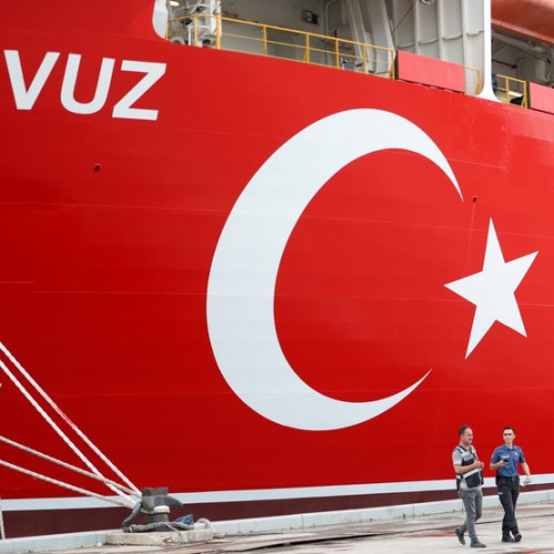 Turkey says another drill ship en route to eastern Mediterranean