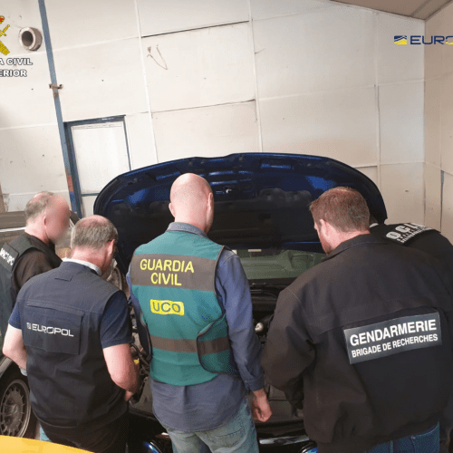 40 arrested in Spain and France for international vehicle theft and trafficking