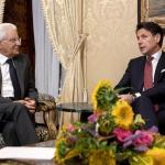 Italian President receives PM Conte's resignation