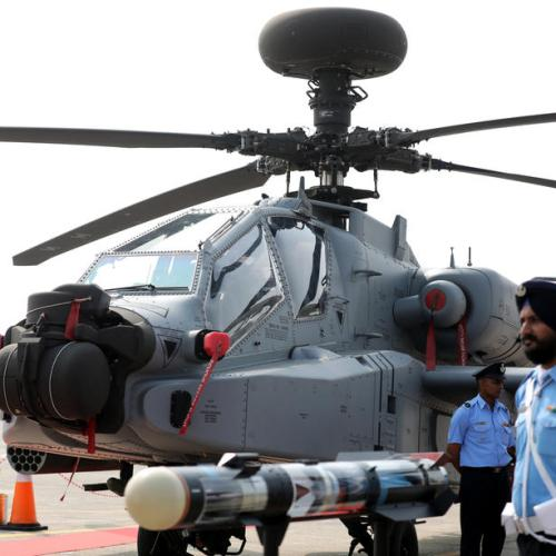 Photo Story: Apache AH-64E attack helicopters introduced into Indian Air Force fleet