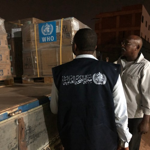 Critical WHO supplies arrive in Sudan to manage cholera outbreak