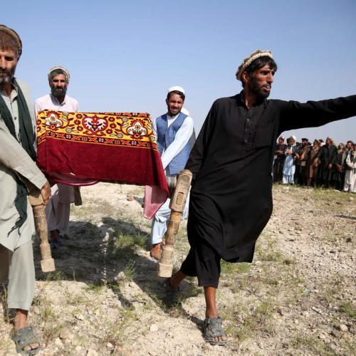 U.S. drone kills 30 farm workers in Afghanistan