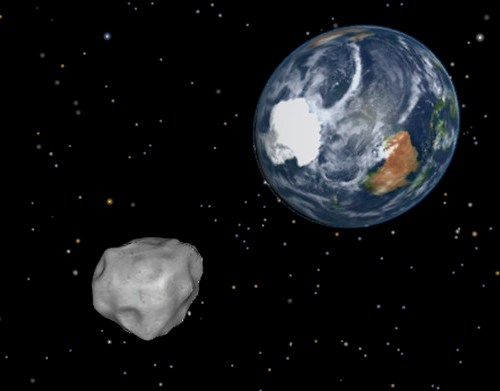 Two asteroids to pass by Earth in a day
