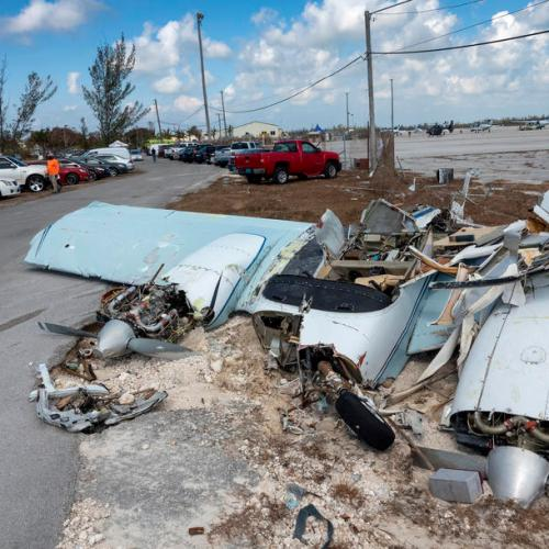 Rescue efforts stepped up in the Bahamas