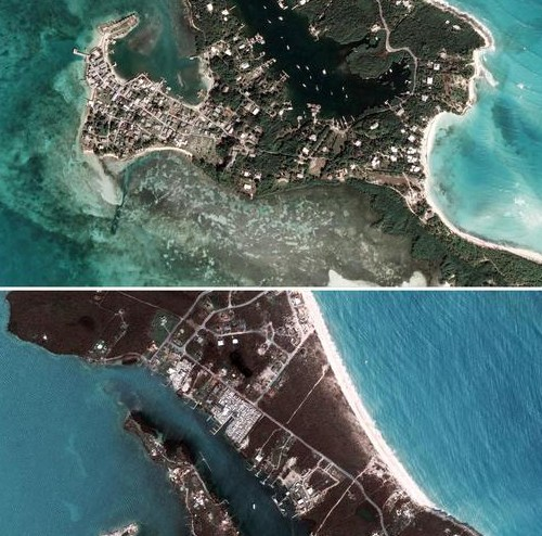 (UPDATED) Photo Story: Before and after Hurricane Dorian in the Bahamas