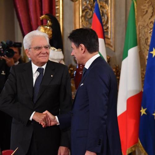New Italian government sworn in