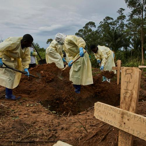 Alarming number of Ebola deaths in DRC