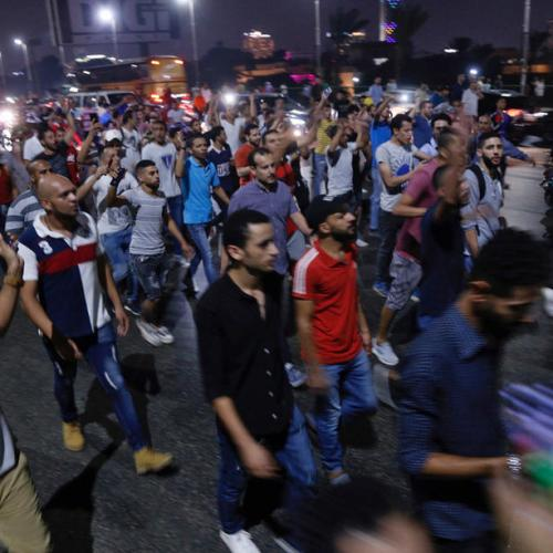 Second night of rare protests in Egypt demand al-Sissi's ouster
