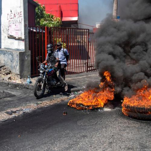 Photo Story: Protests in Haiti