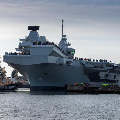 UK Royal Navy aircraft carrier crew test positive for coronavirus