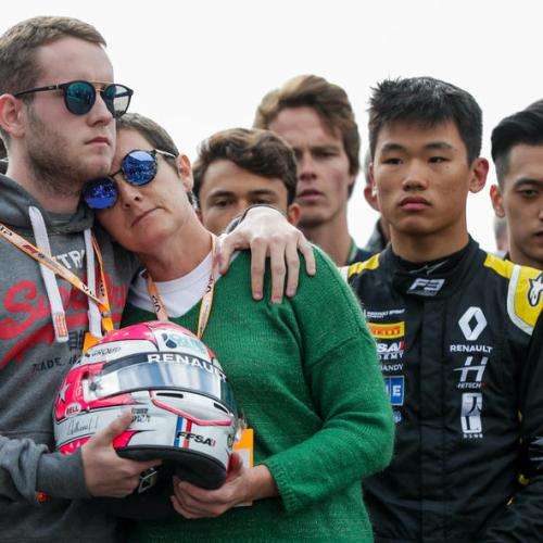 Minute of silence at Spa racetrack for French Formula 2 driver Anthoine Hubert