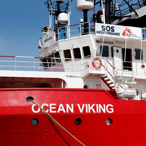 Italy finally assigns safe harbor to the Ocean Viking