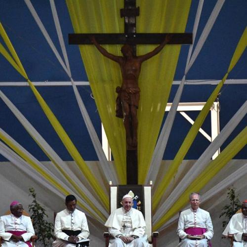 Pope Francis visits Madagascar