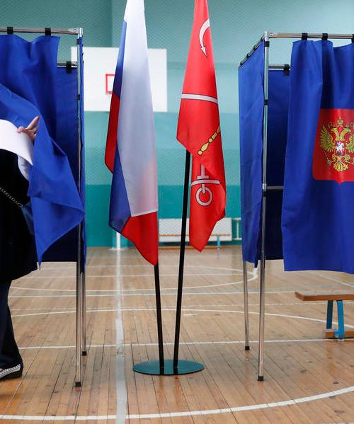 Pro-Putin ruling party seeks new majority as Russia votes
