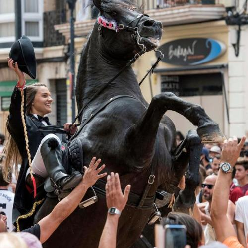 Photo Story: The Mare de Deu de Gracia festival in Spain