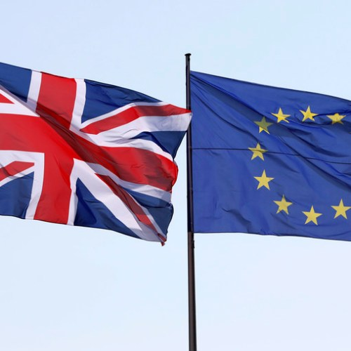 UPDATED: UK urges EU to move on post-Brexit trade with N.Ireland